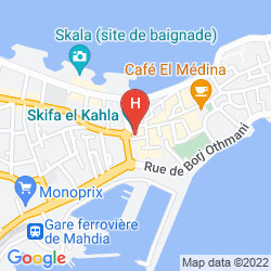 Map THALASSA MAHDIA