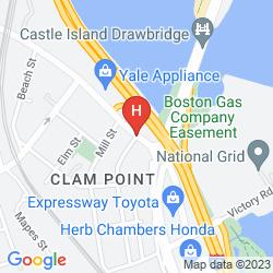 Map RAMADA BOSTON
