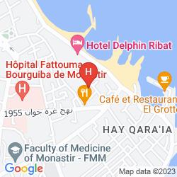 Map MONASTIR CENTER