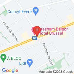 Map GRESHAM BELSON