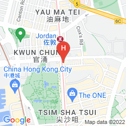 Map SUNNY DAY HOTEL TSIM SHA TSUI