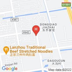 Map JOYFUL STAR HOTEL, DISNEY WANXIA