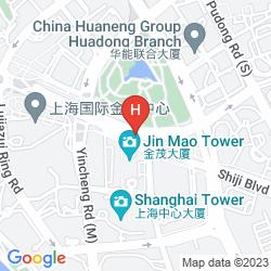 Map THE RITZ-CARLTON SHANGHAI, PUDONG