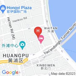 Map WALDORF ASTORIA SHANGHAI ON THE BUND