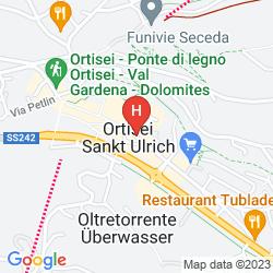 Map HOTEL GARNI SNALTNERHOF