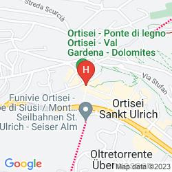 Map ADLER DOLOMITI SPA & SPORT RESORT