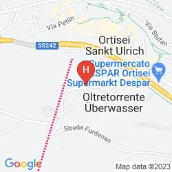 Map COUNTRY HOUSE DOLOMITI