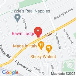 Map BAWN LODGE