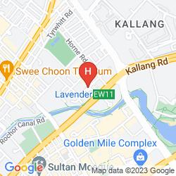 Map V HOTEL LAVENDER