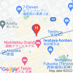 Map MONTEREY LA SOEUR FUKUOKA