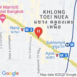 Map RADISSON SUITES BANGKOK SUKHUMVIT