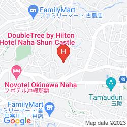 Map DOUBLETREE BY HILTON HOTEL NAHA SHURI CASTLE
