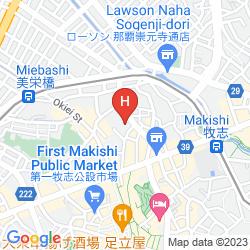 Map NAHA CENTRAL HOTEL