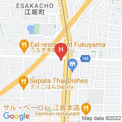 Map GR HOTEL ESAKA