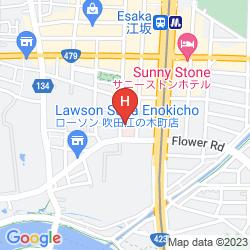 Map HOTEL DAITO ESAKA