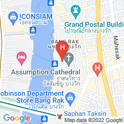 Map MANDARIN ORIENTAL BANGKOK