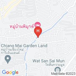 Map MOVENPICK SURIWONGSE HOTEL CHIANG MAI