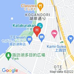 Map SUWAKO HOTEL