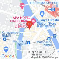 Map HIROSHIMA INTELLIGENT HOTEL