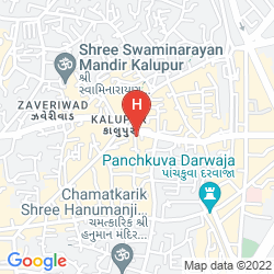 Map FOUR POINTS BY SHERATON AHMEDABAD