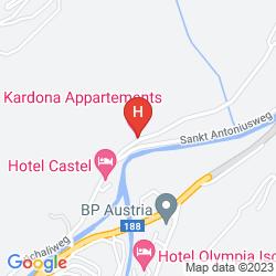 Map HOTEL GARNI KARDONA