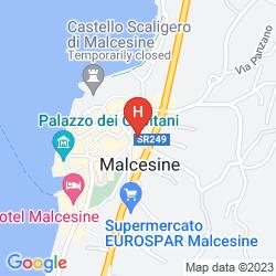 Map HOTEL DOLOMITI