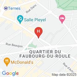 Map ETOILE SAINT HONORÉ