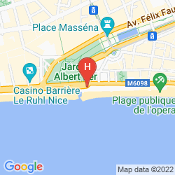 Map AC HOTEL NICE