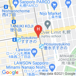 Map APA HOTEL SAPPORO SUSUKINO EKIMAE