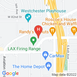 Map DAYS INN BY WYNDHAM LOS ANGELES LAX/VENICEBCH/MARINA DELRAY