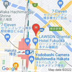 Map HAKATA GREEN HOTEL 1
