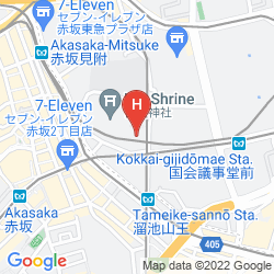 Map THE CAPITOL HOTEL TOKYU