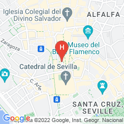 Map GIRALDA SUITES