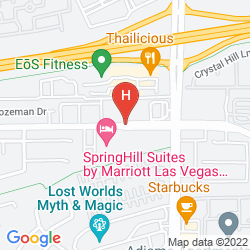 Map TOWNEPLACE SUITES BY MARRIOTT HENDERSON