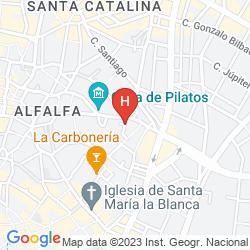 Map CASA DEL BUEN VIAJE