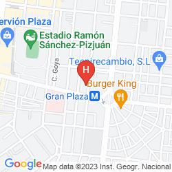 Map HOSTAL SAN VICENTE II