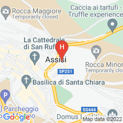Map NUN ASSISI RELAIS & SPA MUSEUM