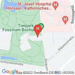 Map HOTEL COURTYARD BY MARRIOTT BOCHUM STADTPARK