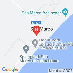Map VILLAGGIO CALA DEI NORMANNI