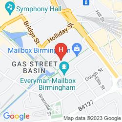 Map INDIGO BIRMINGHAM