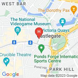 Map IBIS SHEFFIELD CITY