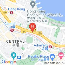Map THE RITZ CARLTON HONG KONG