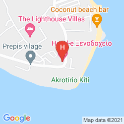 Map E HOTEL SPA & RESORT CYPRUS