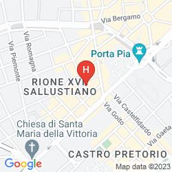 Map COLLINA SUITES