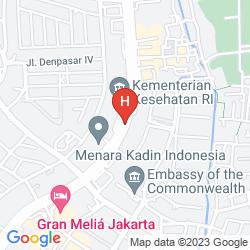 Map GRAN MELIA