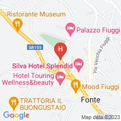 Map GRAND HOTEL PALAZZO DELLA FONTE