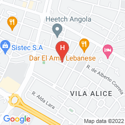 Map Vila Alice