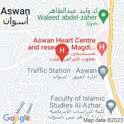 Map PYRAMISA ISIS ISLAND ASWAN RESORT & SPA