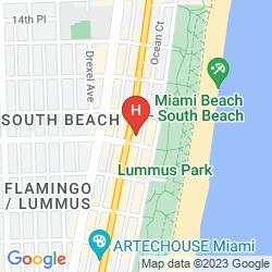 Map DREAM SOUTH BEACH