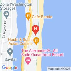 Map DESIGN SUITES MIAMI BEACH